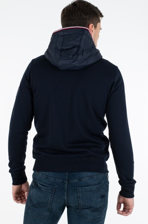 Striukė MIXED MEDIA HOODED ZIP THROUGH-3