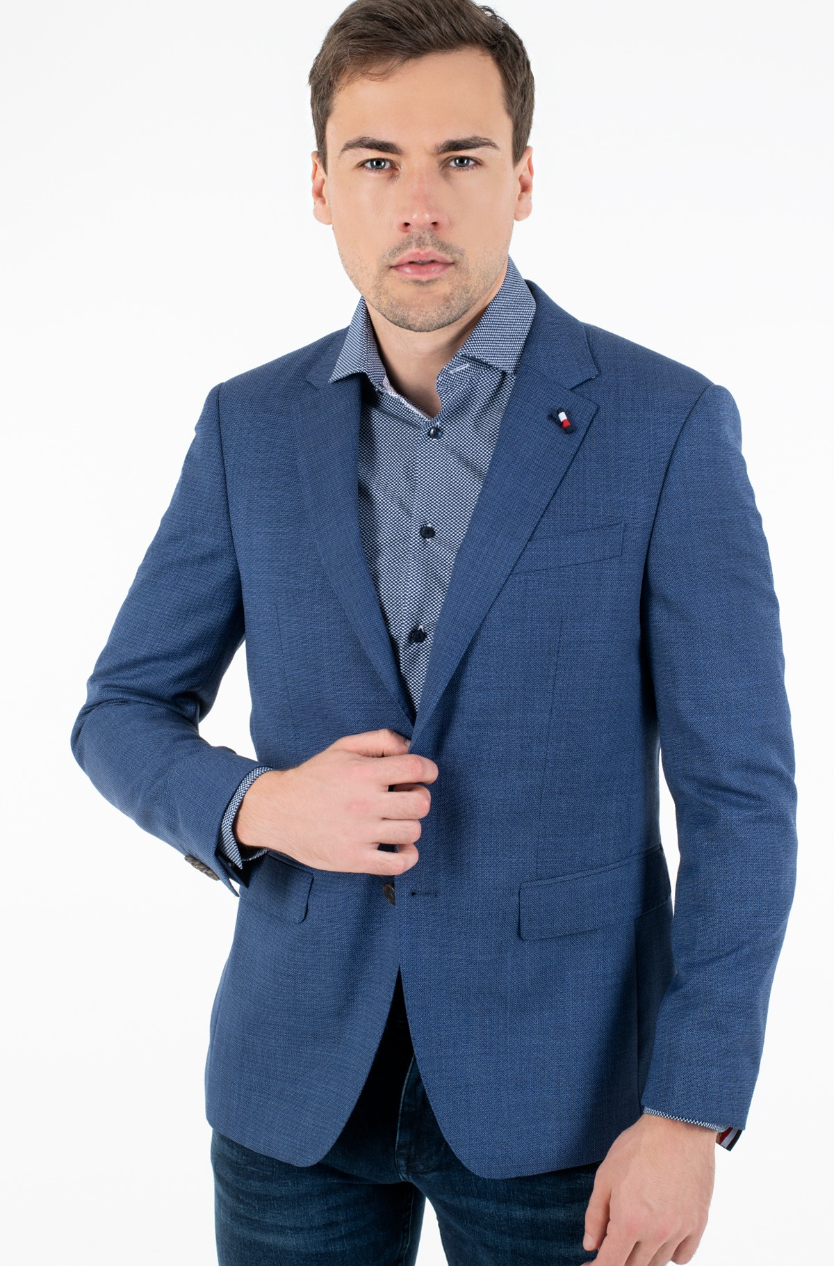 Pintsak SUPER 100 REGULAR FIT BLAZER	-full-1