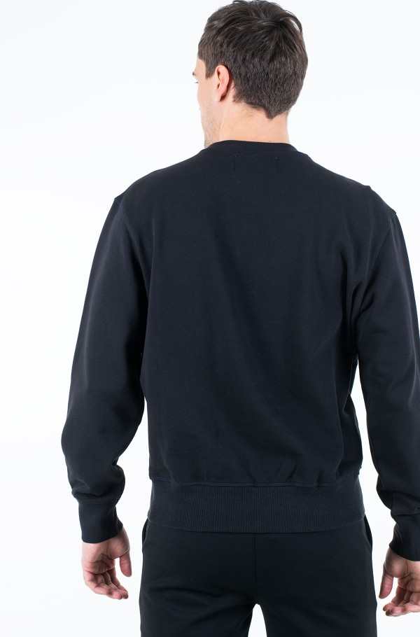 EMBOSSED FASHION CREW NECK-hover