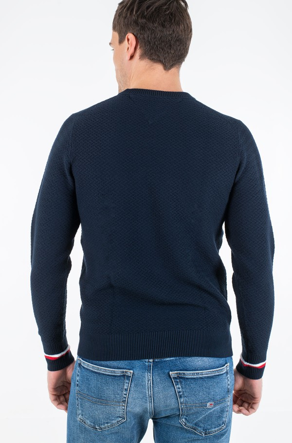 PATTERN STRUCTURE SWEATER-hover