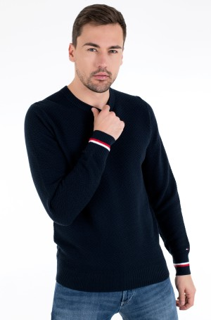 Kampsun PATTERN STRUCTURE SWEATER	-1