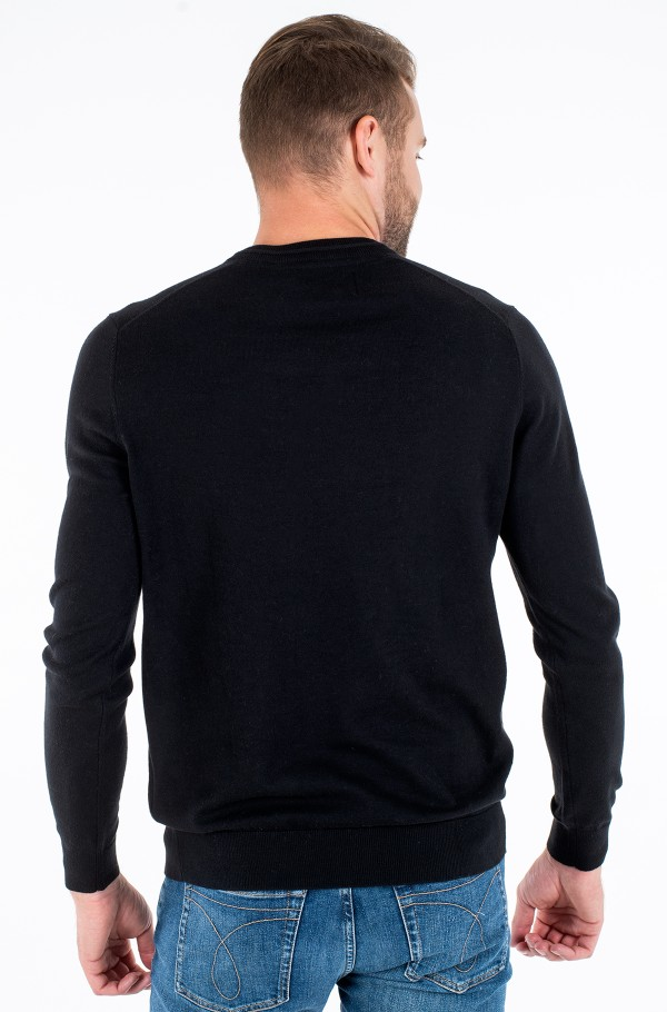ESSENTIAL V NECK SWEATER-hover