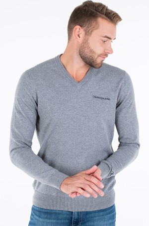 Sweater ESSENTIAL V NECK SWEATER-1