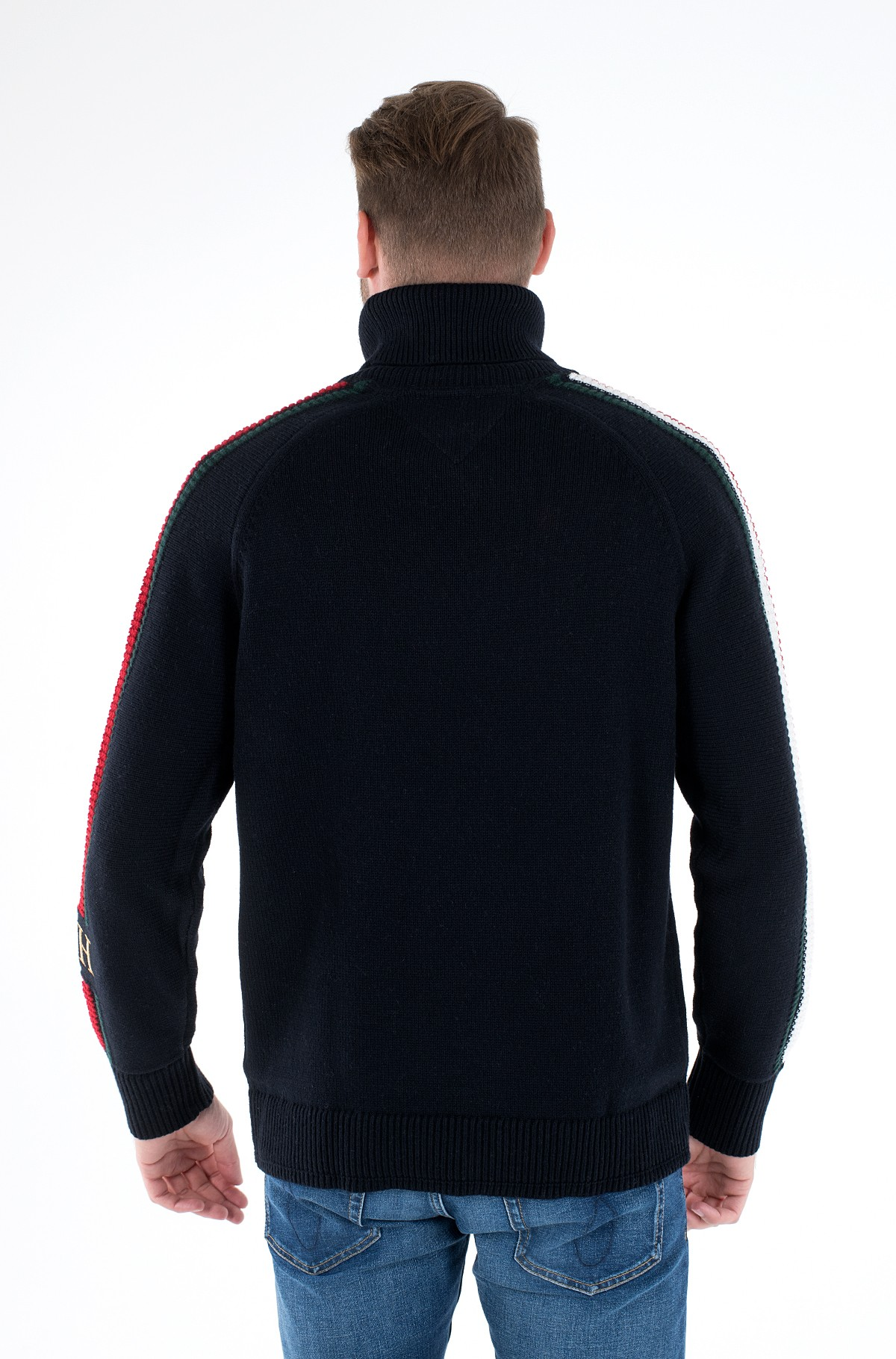 Megztinis ICON TIPPED ROLL NECK-full-3