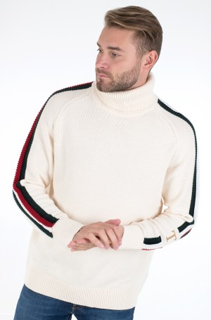 Megztinis ICON TIPPED ROLL NECK-2