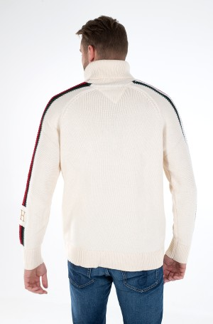 Megztinis ICON TIPPED ROLL NECK-3