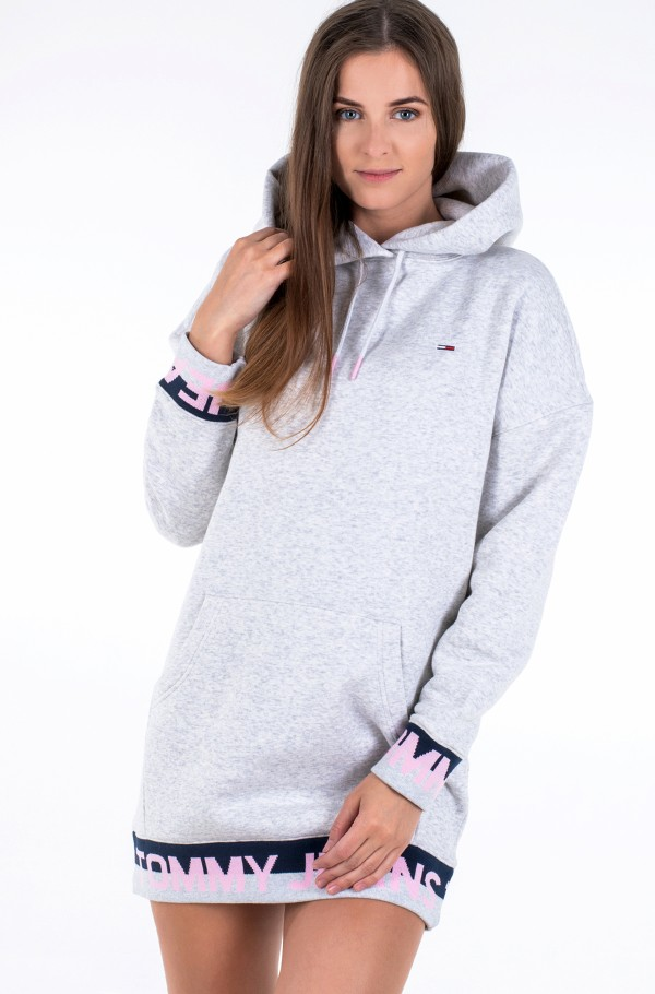 TJW BRANDED HEM SWEAT DRESS