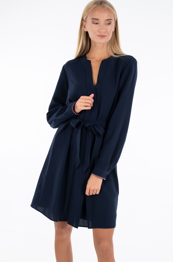 ARIELLA KNEE LENGTH DRESS LS