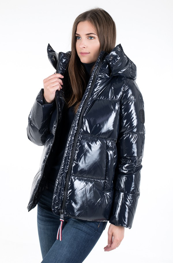 HIGH GLOSS DOWN PUFFER JKT