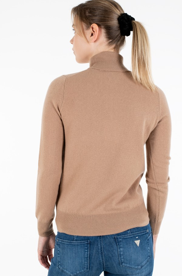 RECYCLED CASHMERE ROLLNK SWEATER-hover
