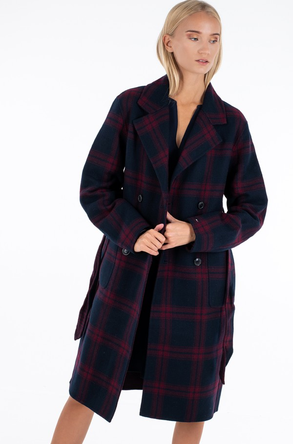 HEAVY WEIGHT DF  WOOL BLEND COAT-hover