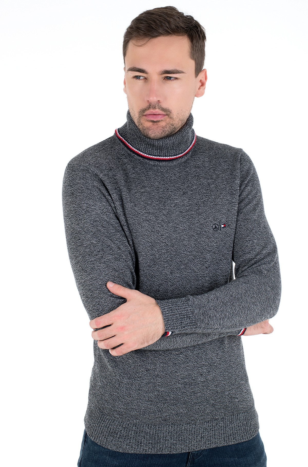 Sweater 2 MB TH WARM ROLL NECK-full-1