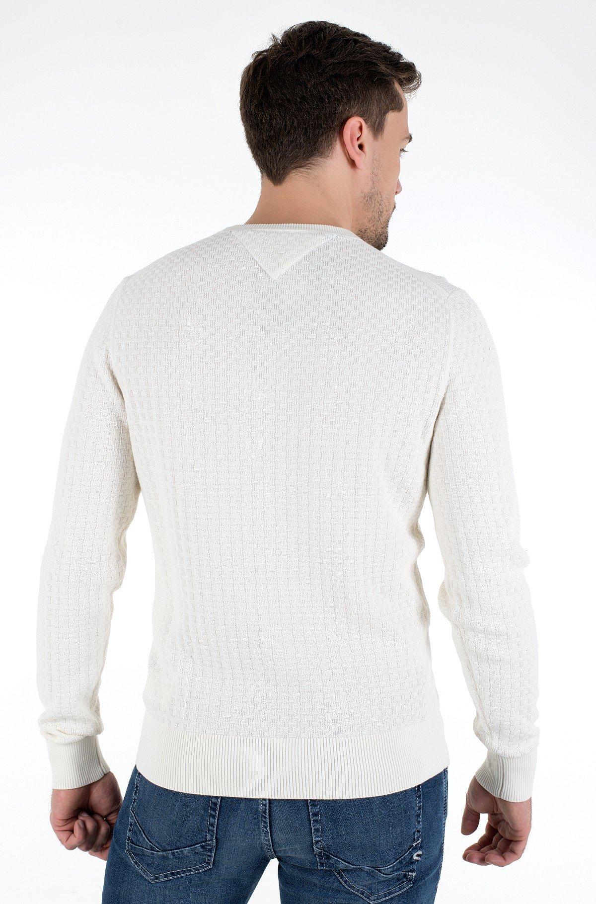 Knitwear WEAVE STRUCTURED SWEATER-full-2