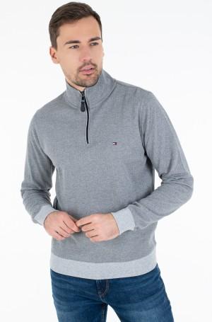 Sweater HERRINGBONE MOCK NECK-1