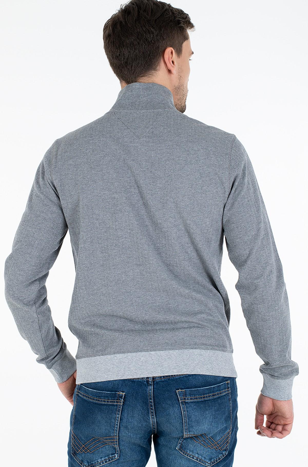 Sweater HERRINGBONE MOCK NECK-full-2
