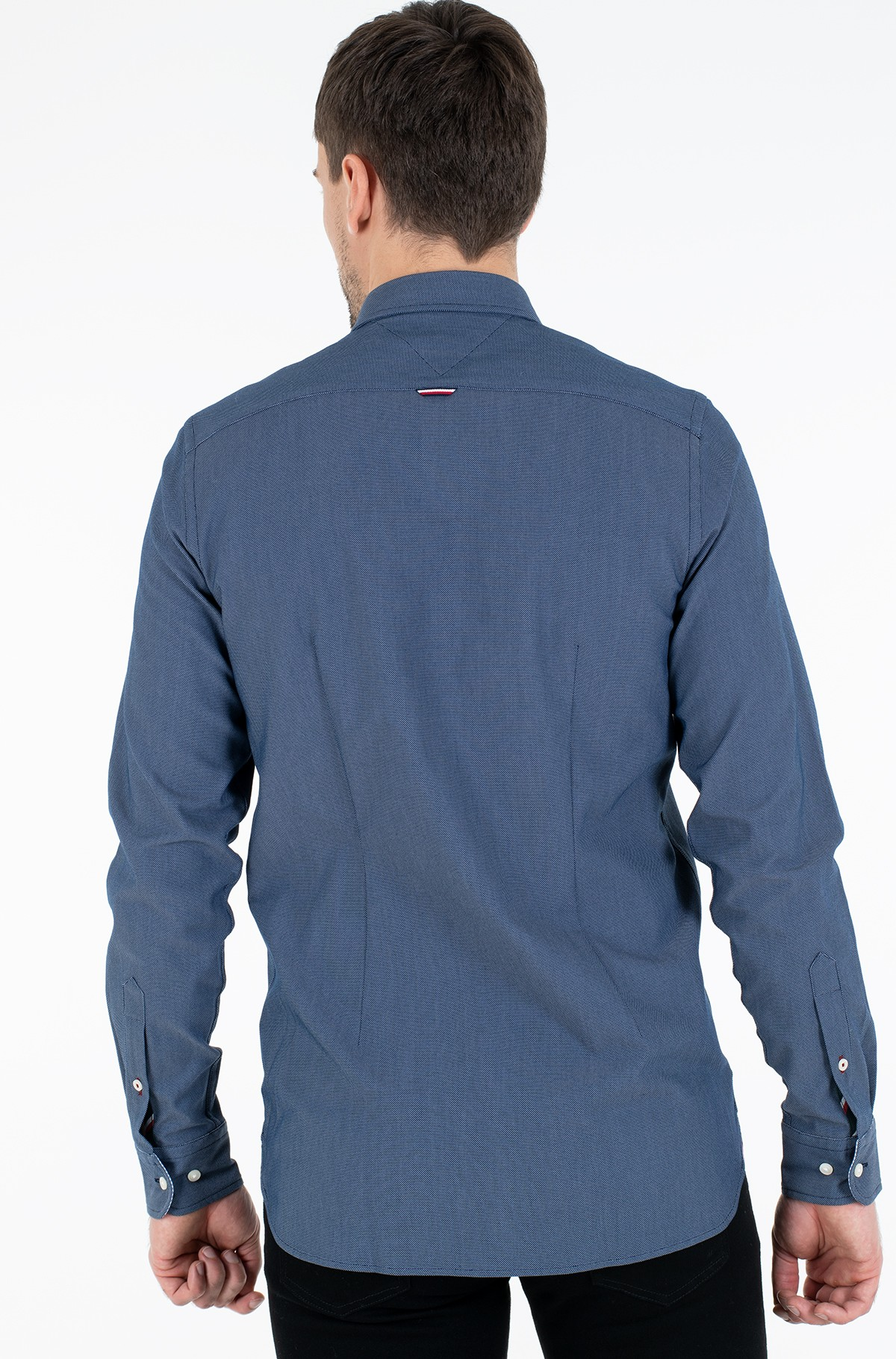 Marškiniai SLIM 4 WAY STRETCH DOBBY SHIRT-full-2