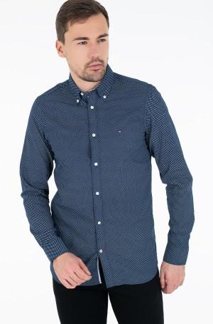 Marškiniai SLIM MICRO PRINT TWILL SHIRT-1