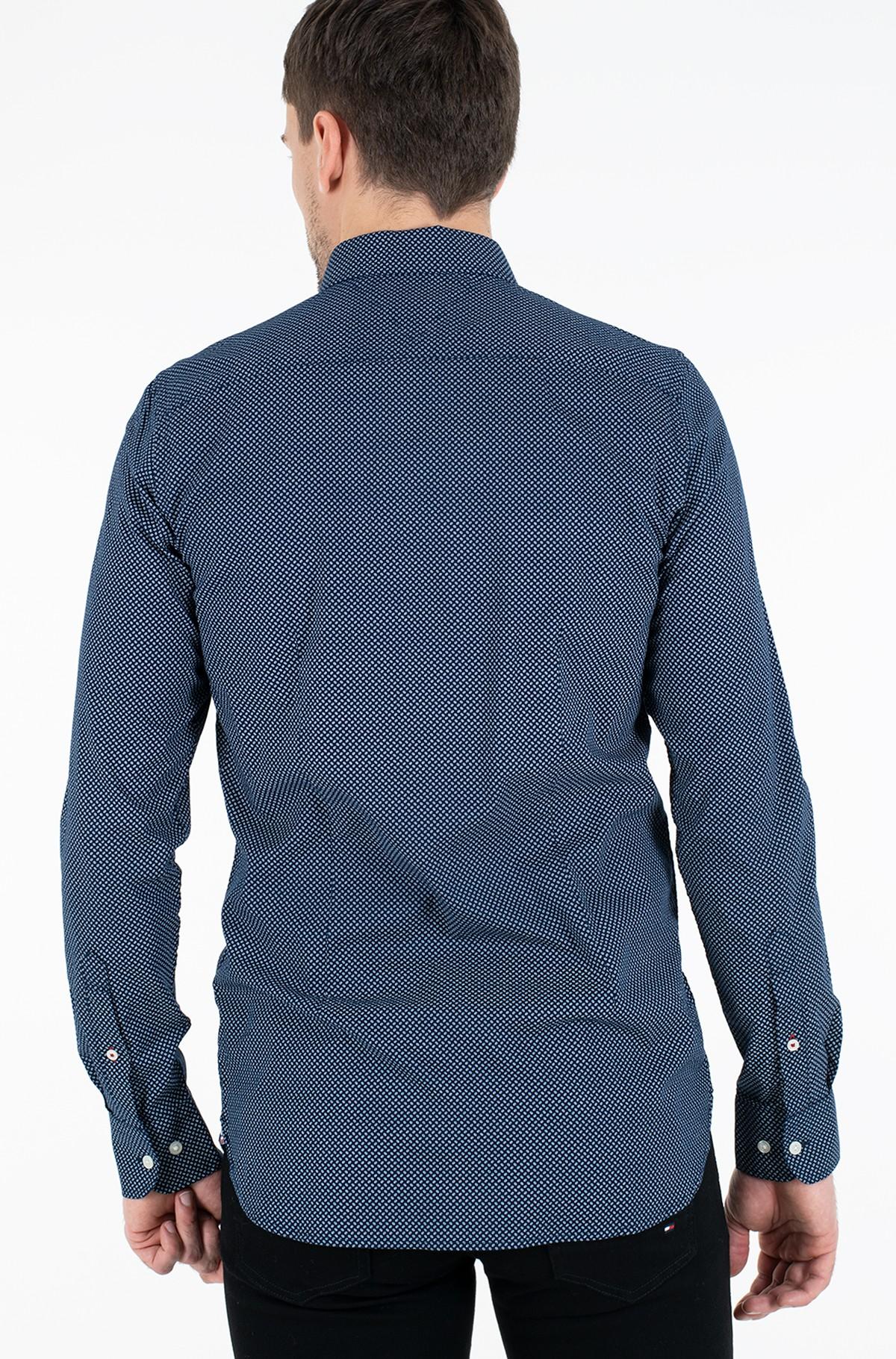 Marškiniai SLIM MICRO PRINT TWILL SHIRT-full-2