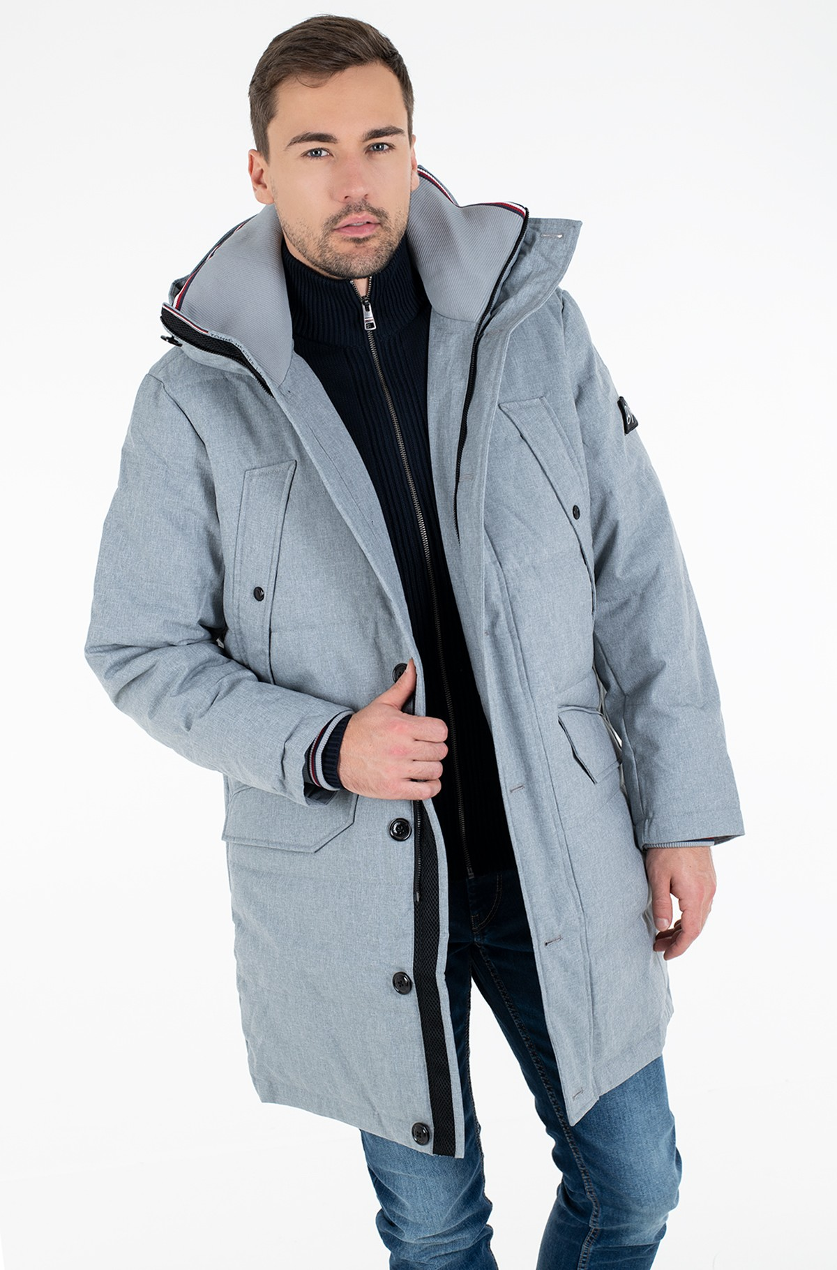 Parka 2 MB QUILTED PARKA-full-2