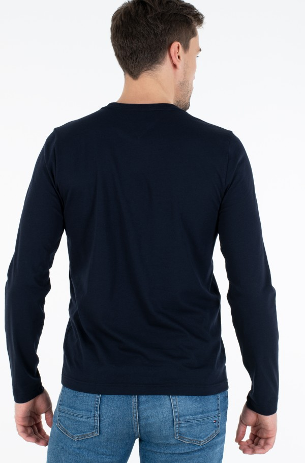 CORP CHEST STRIPE LS TEE-hover