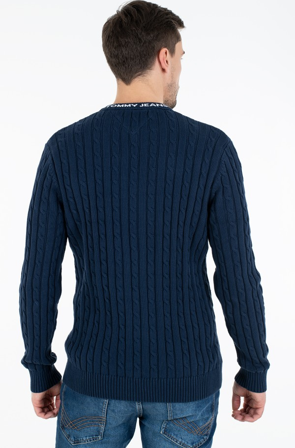 TJM ESSENTIAL CABLE SWEATER-hover