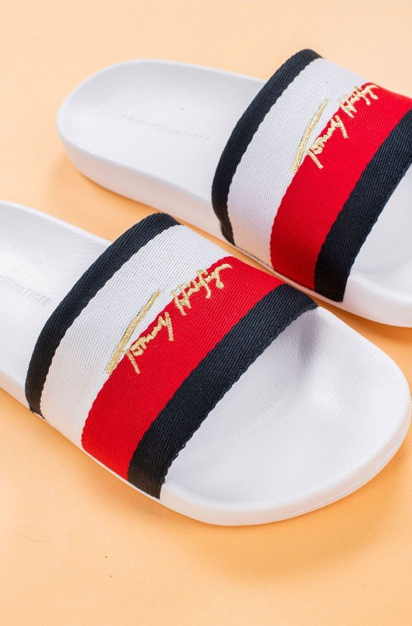 TOMMY SIGNATURE POOL SLIDE-hover