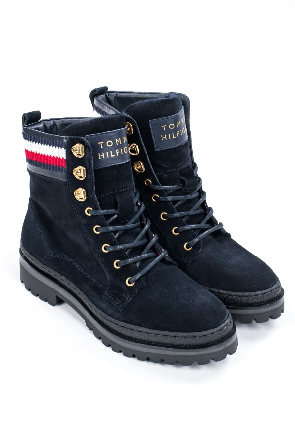 RUGGED CLASSIC LACE UP FLAT BOOT