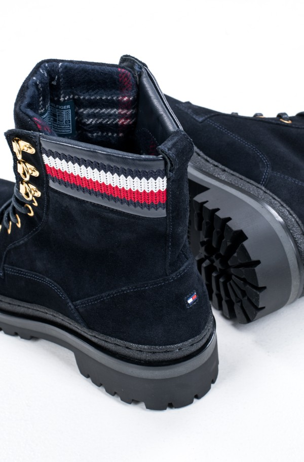 RUGGED CLASSIC LACE UP FLAT BOOT-hover