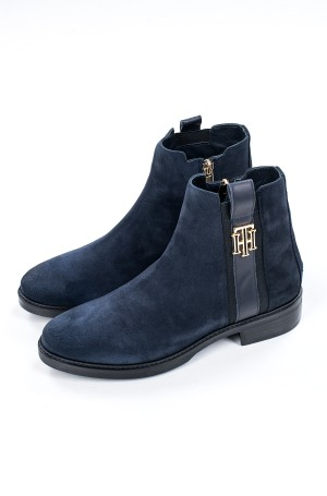Aulinukai TH INTERLOCK SUEDE FLAT BOOT-1