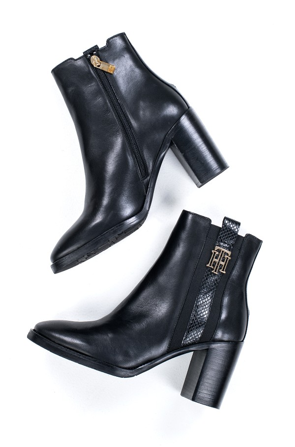 TH INTERLOCK HIGH HEEL BOOT