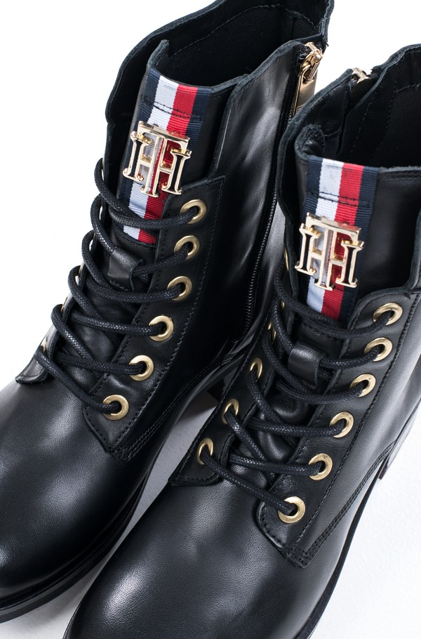 TOMMY ESSENTIAL BIKER BOOT-hover