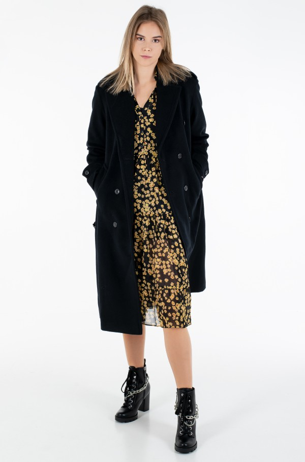 POST CONSUMER WOOL BLEND TRENCH-hover