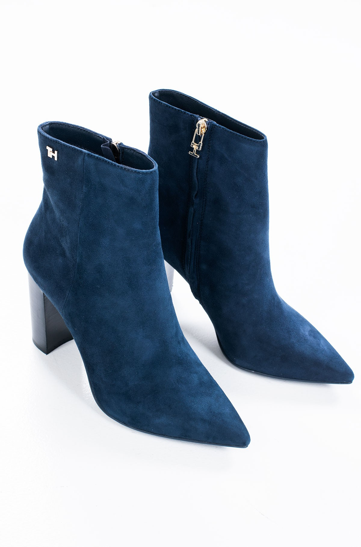 Ilgaauliai ESSENTIAL SUEDE HIGH HEEL BOOT	-full-3
