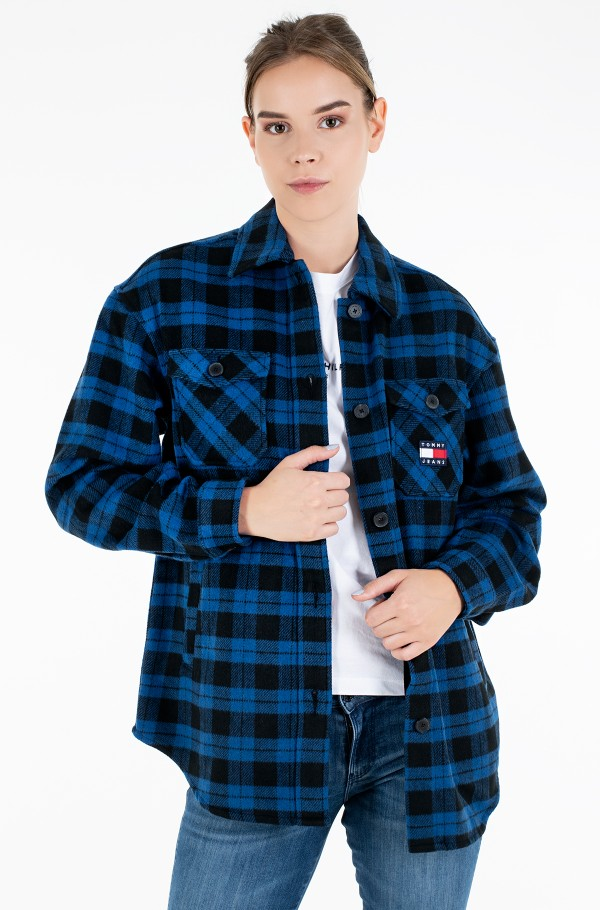 TJW FLANNEL OVERSHIRT-hover