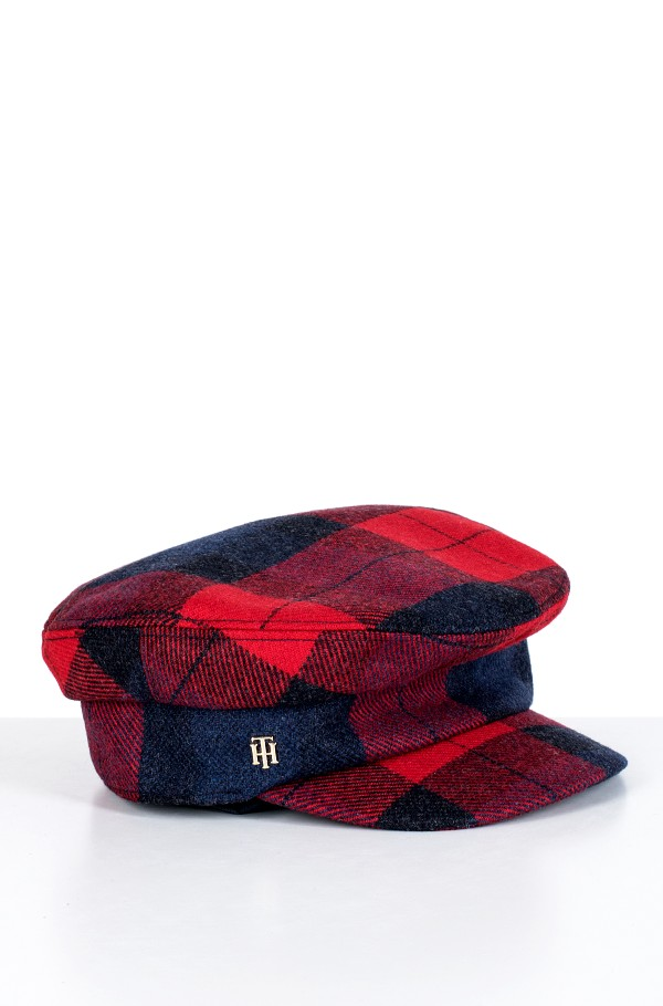 TH WOOL BAKER BOY CHECK-hover