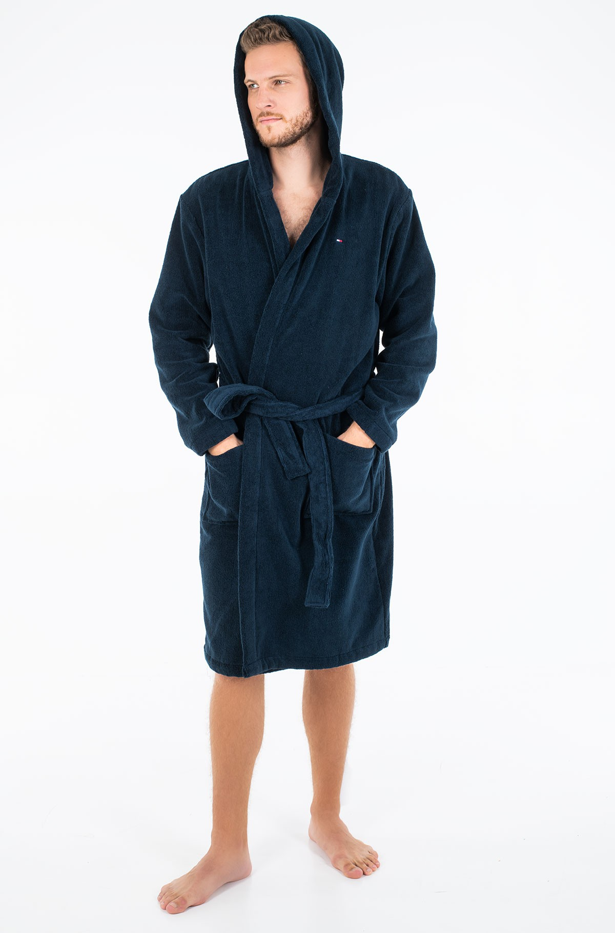 Chalatas Icon hooded bathrobe-full-1