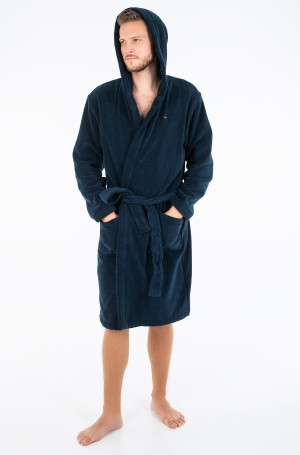 Chalatas Icon hooded bathrobe-1
