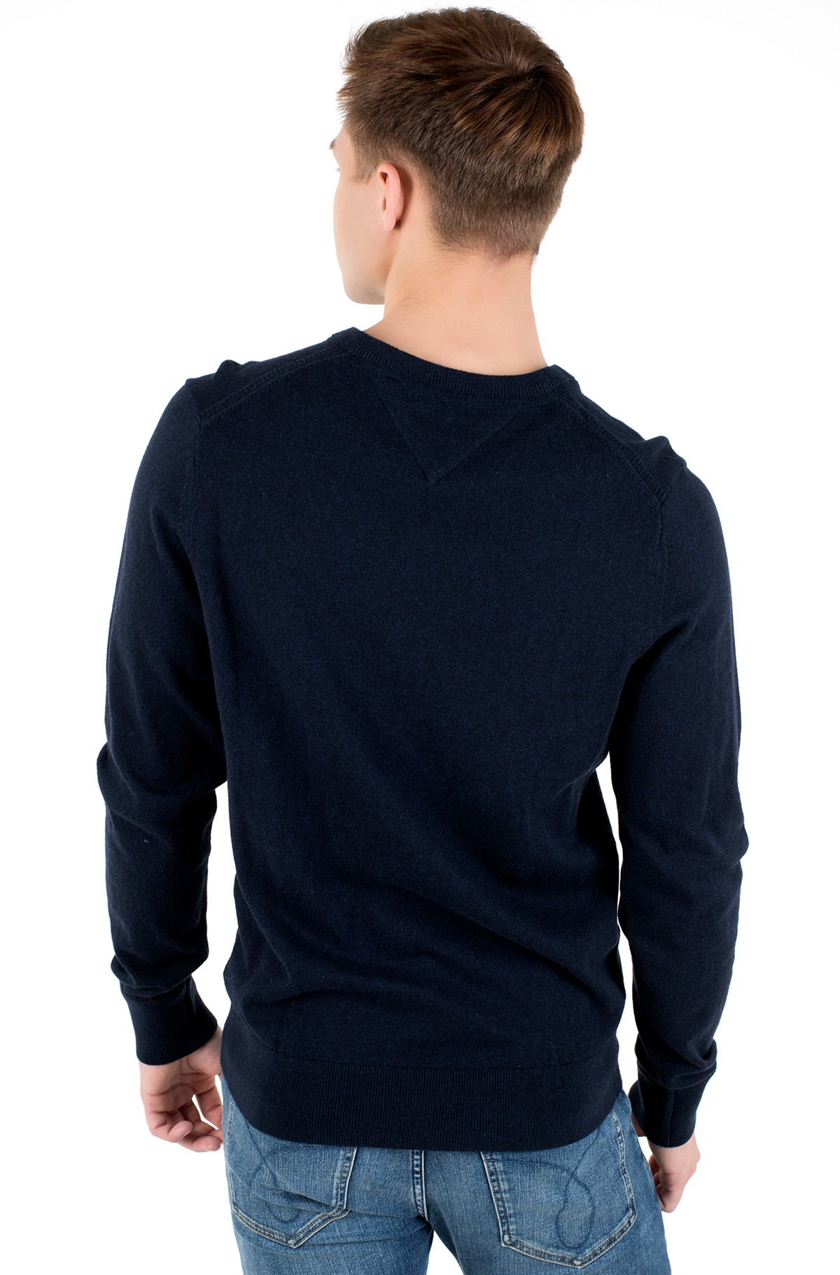 Sviiter PIMA COTTON CASHMERE V NECK-full-2