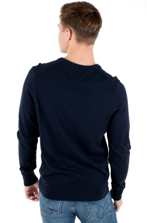 Sviiter PIMA COTTON CASHMERE V NECK-2