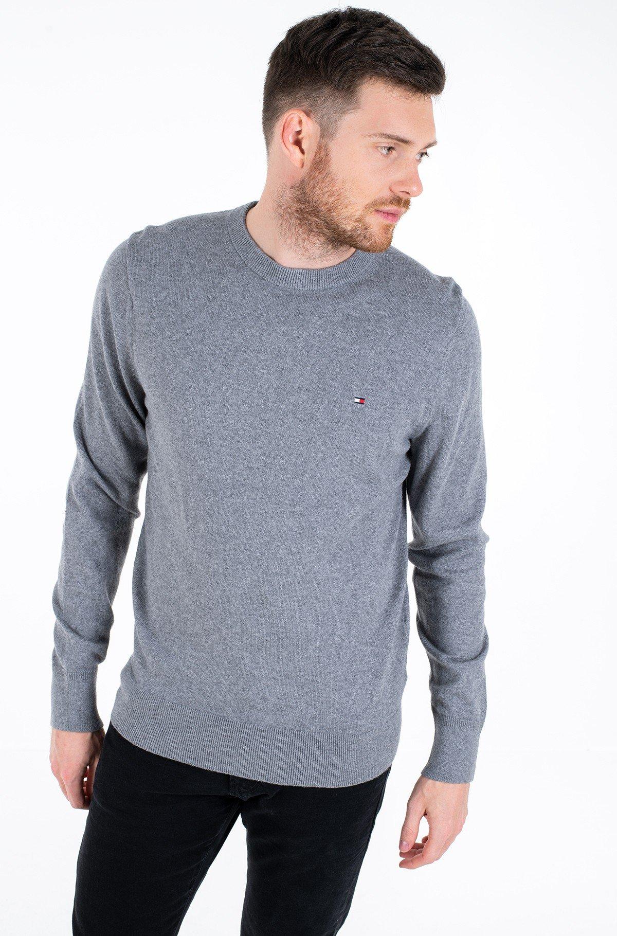 Sweater PIMA COTTON CASHMERE CREW NECK-full-1