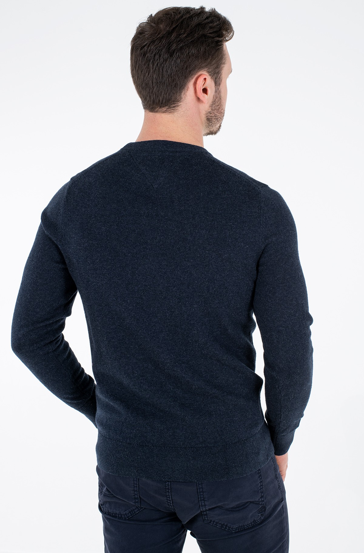 Sweater PIMA COTTON CASHMERE CREW NECK-full-2