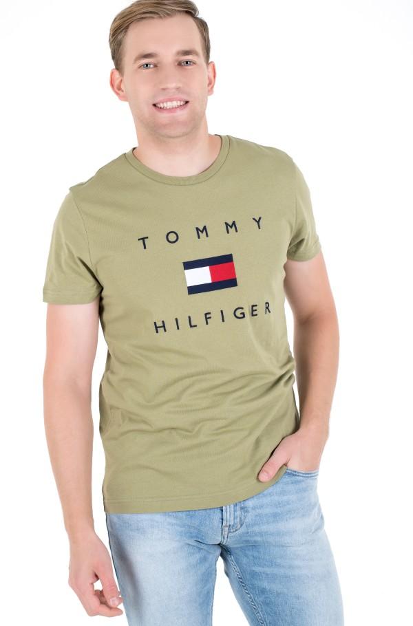 TOMMY FLAG HILFIGER TEE