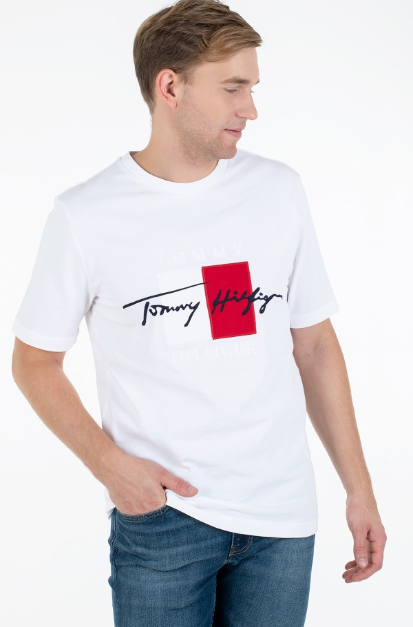 BOX SIGNATURE RELAXED FIT TEE