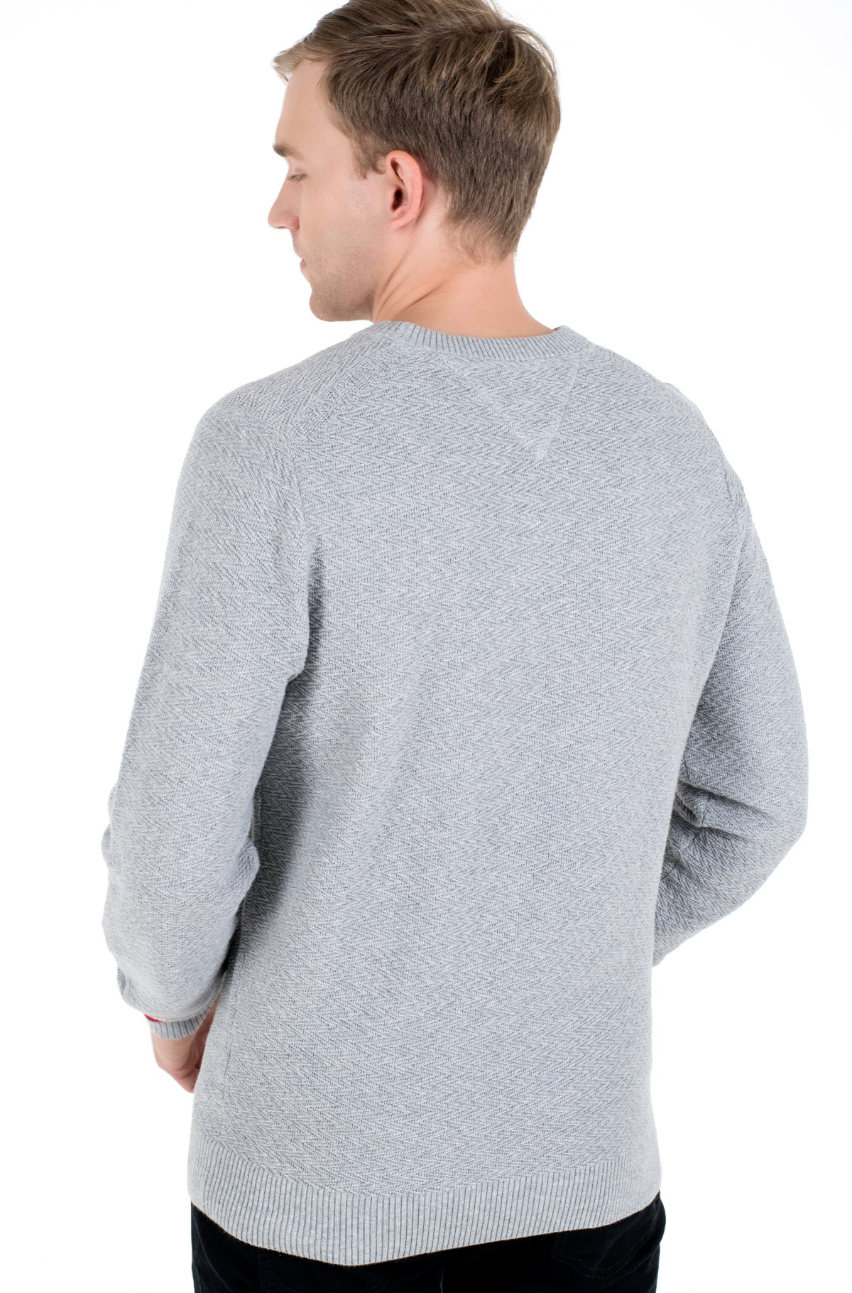 Sweater PATTERN STRUCTURE SWEATER-full-2