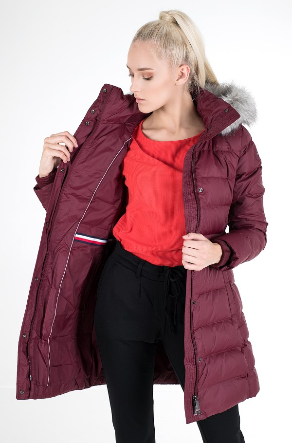 TH ESS TYRA DOWN COAT WITH FUR-hover