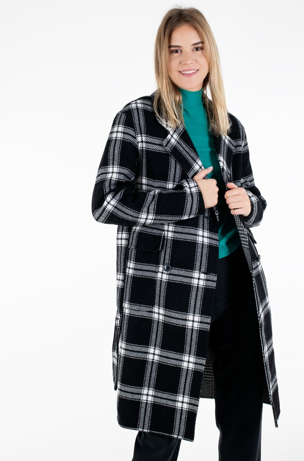 HEAVY WEIGHT DF  WOOL BLEND COAT