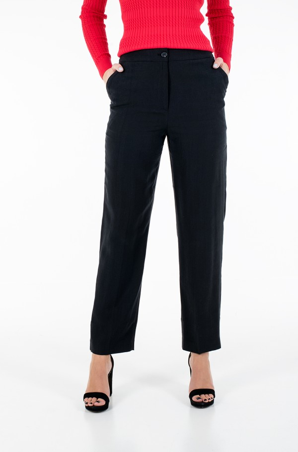 TENCEL TWILL PULL ON FL PANT-hover