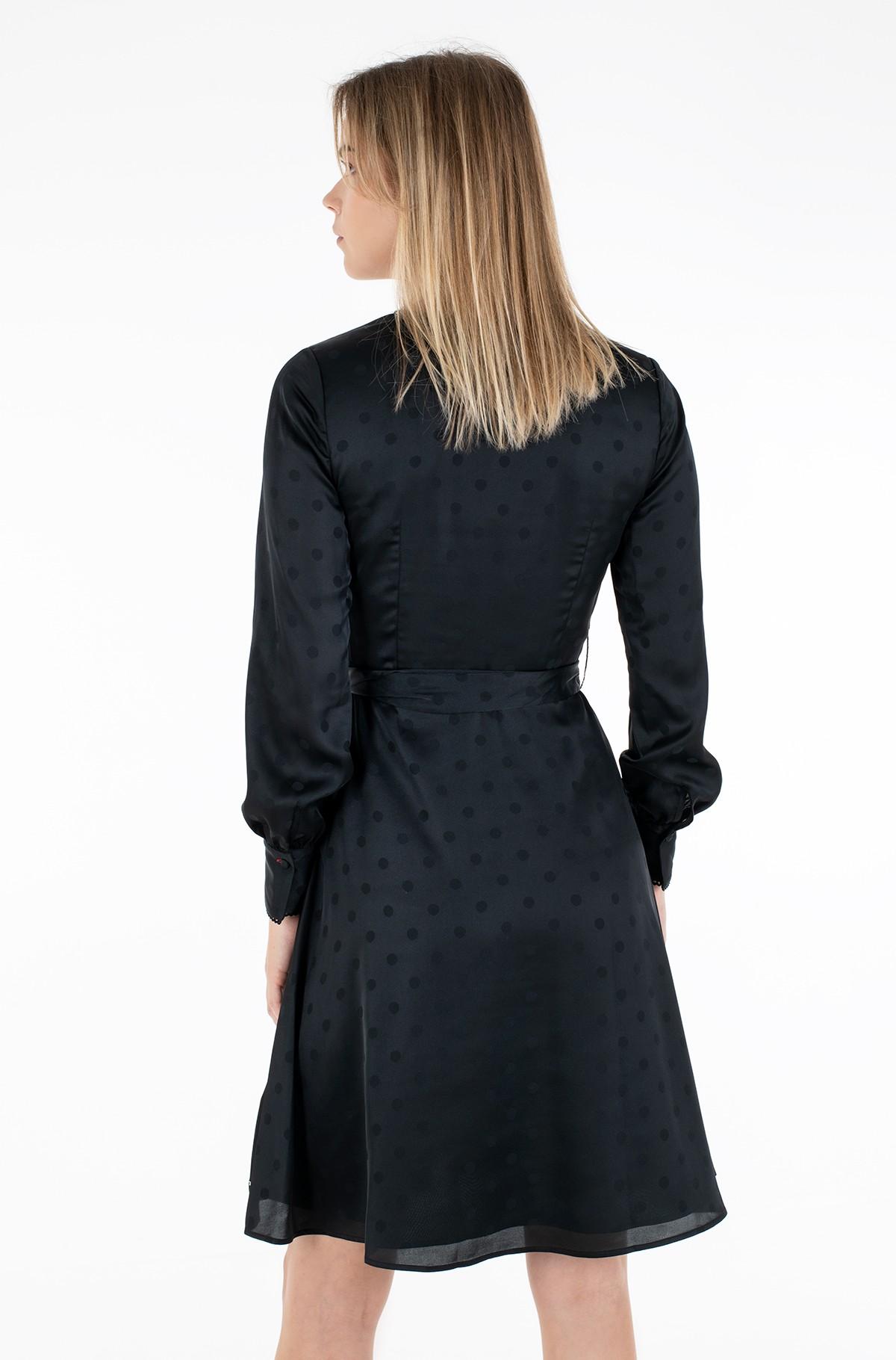 Suknelė POLKA DOT FIT&FLARE WRAP DRESS-full-3