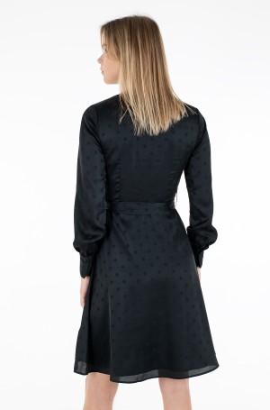 Suknelė POLKA DOT FIT&FLARE WRAP DRESS-3