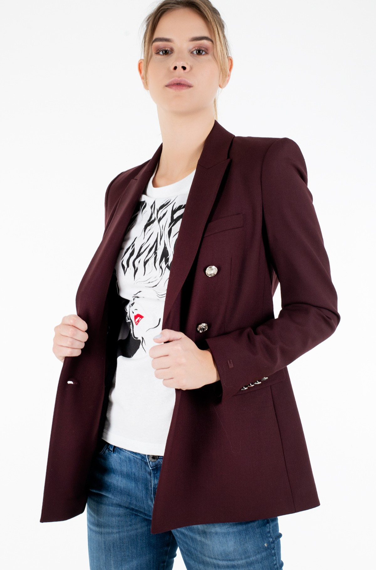Pintsak ICON WOOL DB BLAZER-full-1